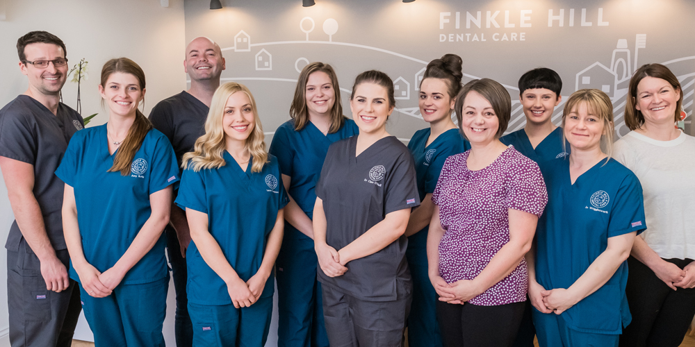 The Finkle Hill Dental team